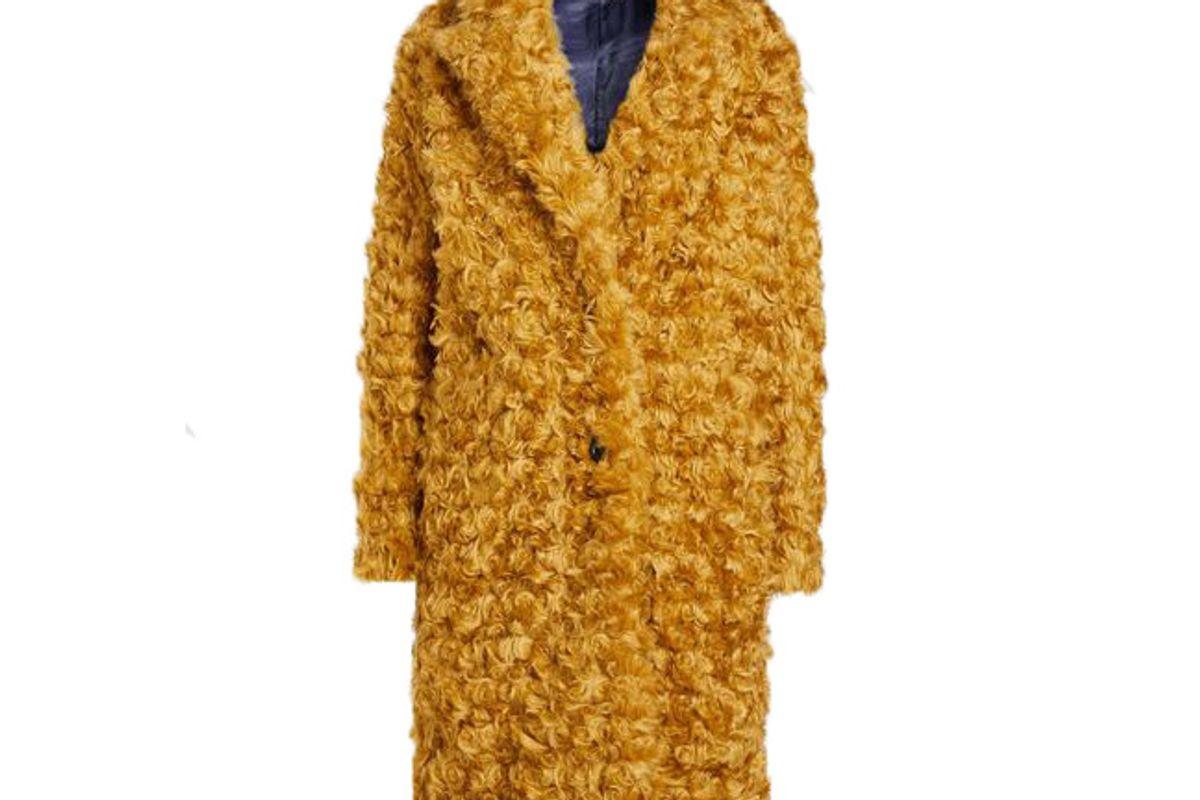 baum und pferdgartendary faux fur coat