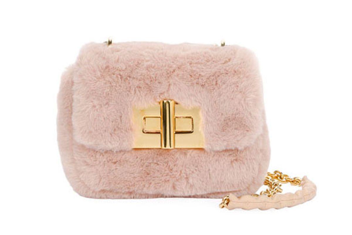 tom ford natalia mini soft faux fur shoulder bag