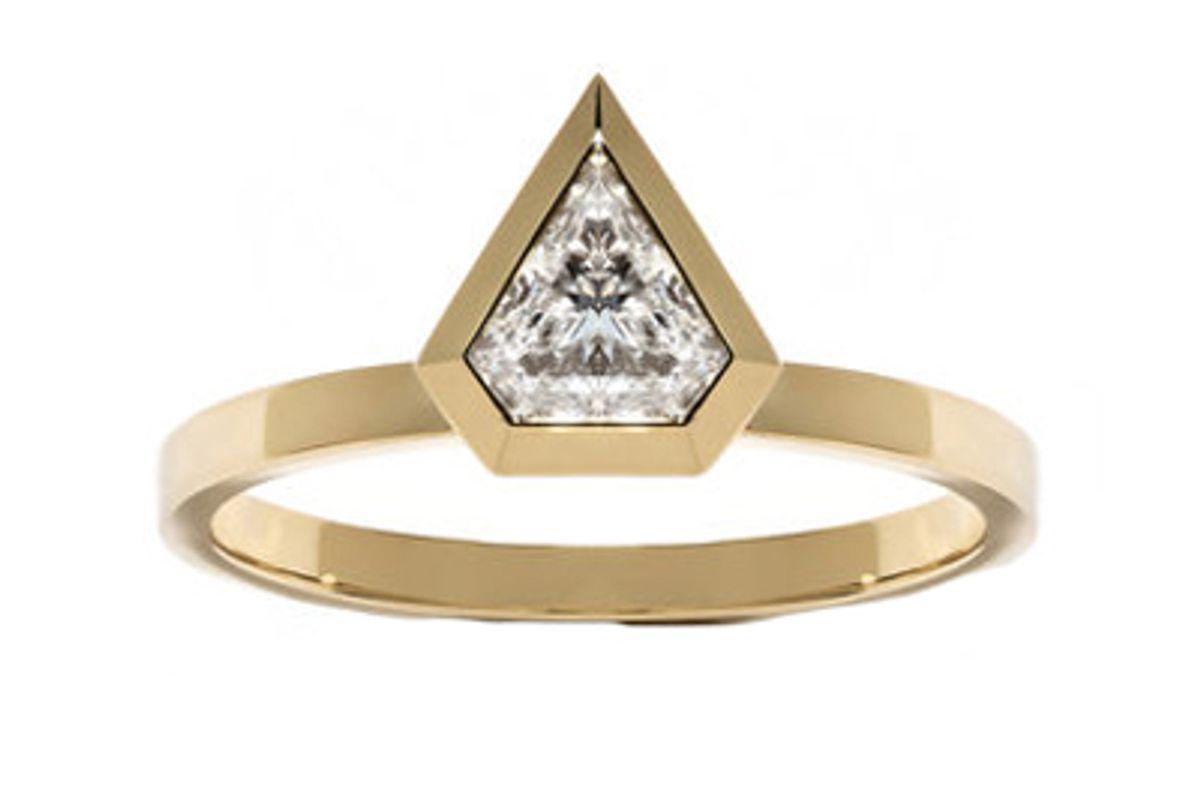 azlee jewelry shield diamond ring