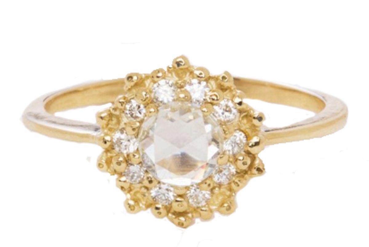 ruta reifen 14k yellow gold sunshine ring