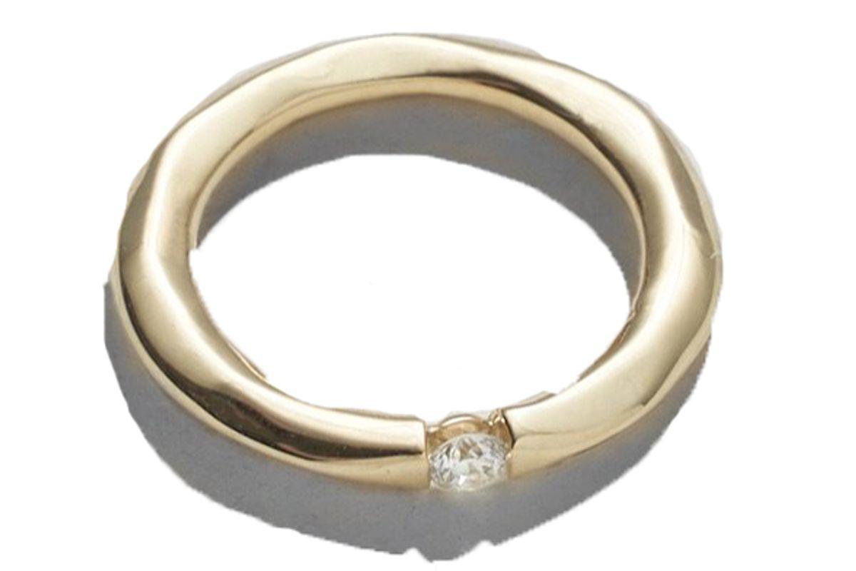 pamela love floating diamond ring