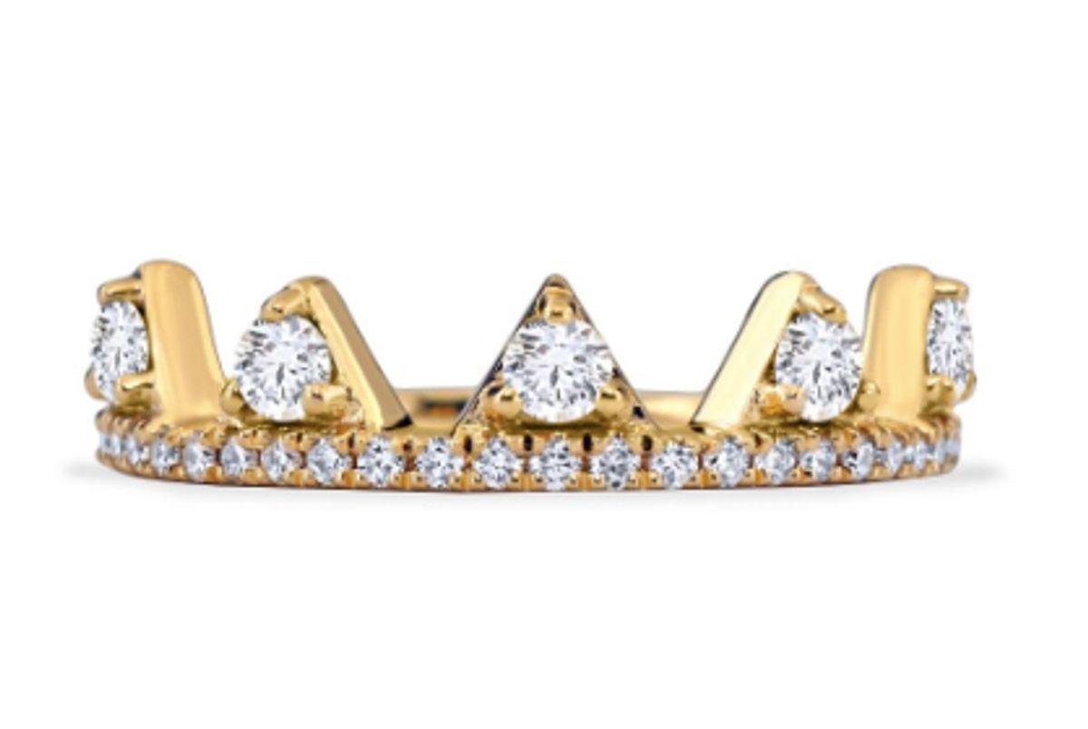 khaikha jewelry white diamond jaws ring
