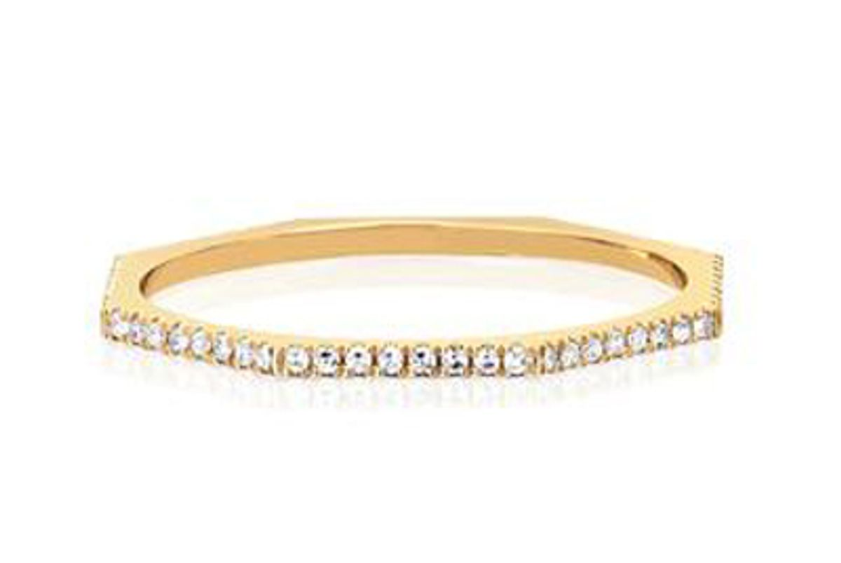 ef collection full diamond octagon ring