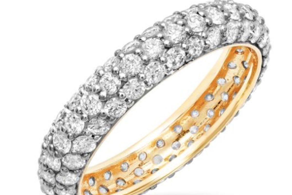 eriness diamond domed ring