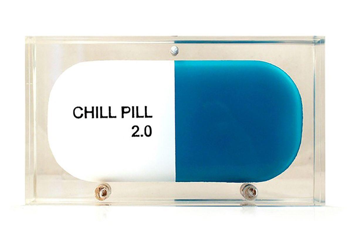 Chill pill clutch