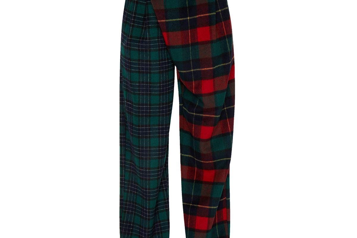 danielle guizio safety pin wool trouser