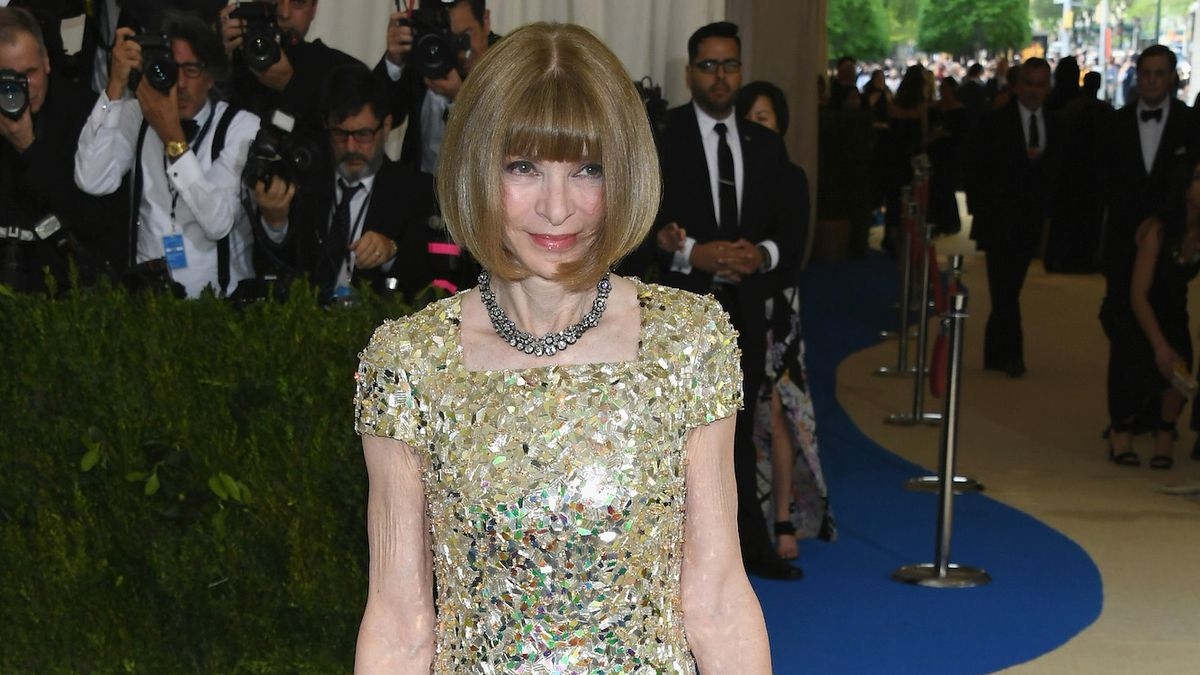 If Anna Wintour's Dress Looks Familiar, That's Because It Is