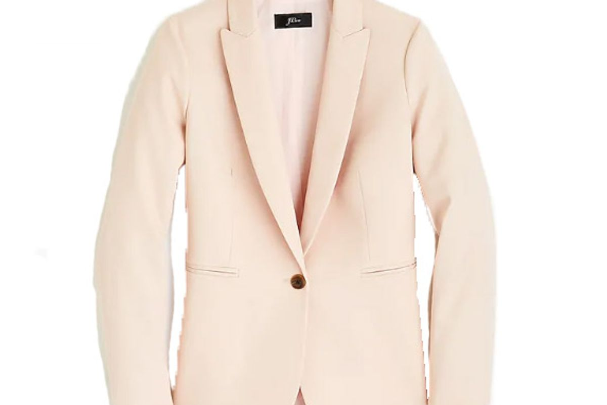 j crew parke blazer in bistretch cotton