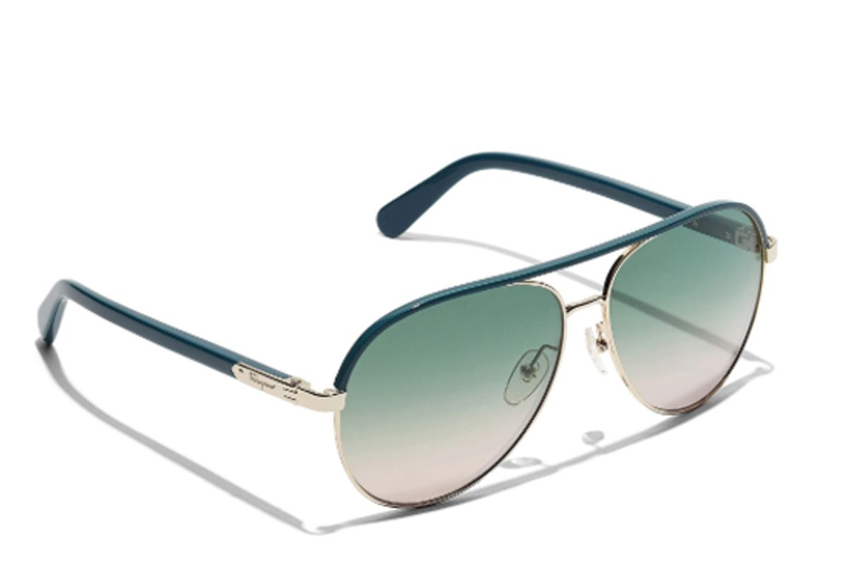 ferragamo aviator sunglasses