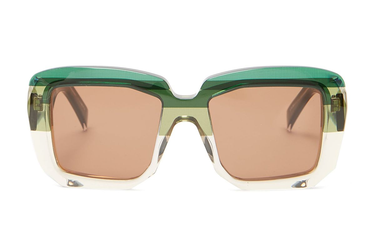 marni rothko square acetate sunglasses
