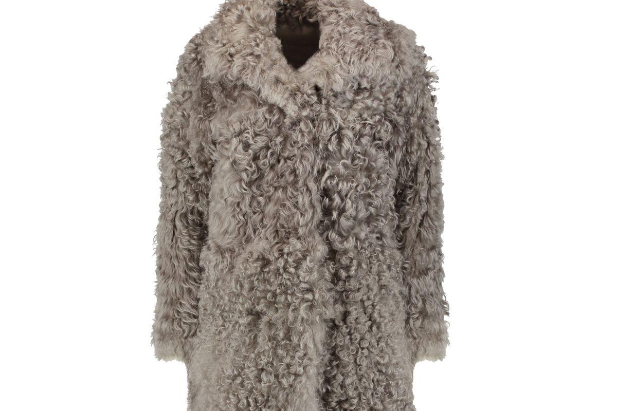 Dulce shearling coat