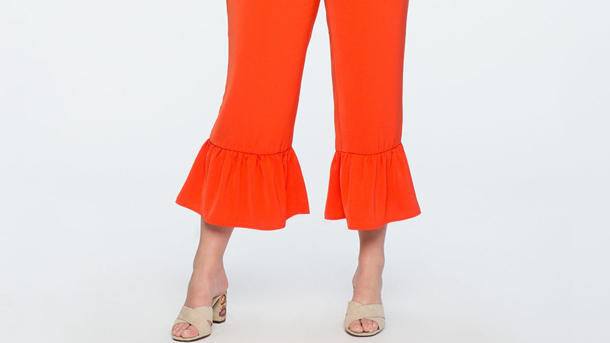 37 Plus Size Cropped Wide Leg Pants That'll Make Your Summer To Fall Transition A Breeze