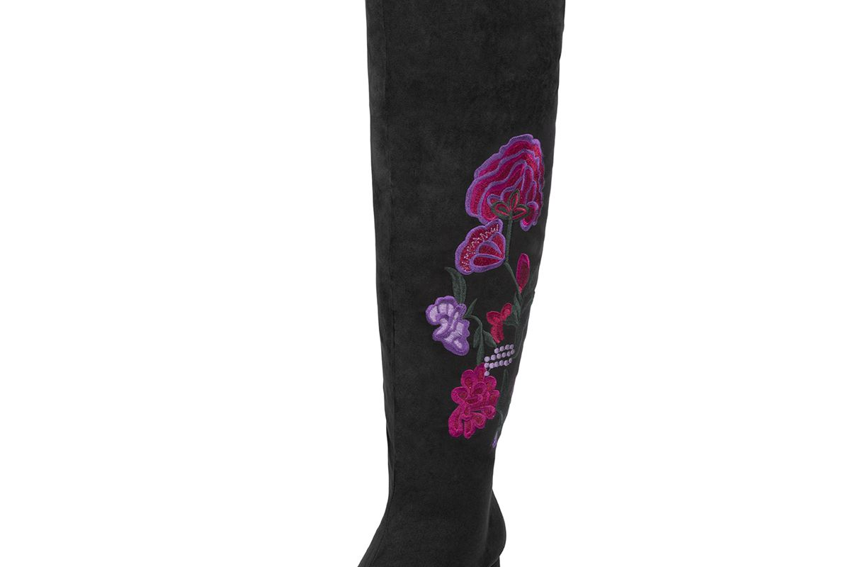 Elena Faux Suede Over the Knee Boot