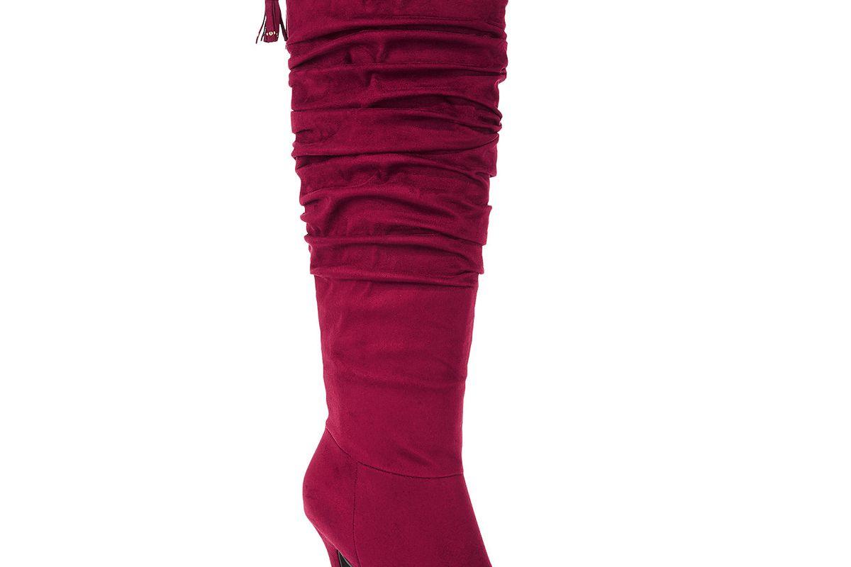 Brisa Wide-Width Wide-Calf Dress Boots