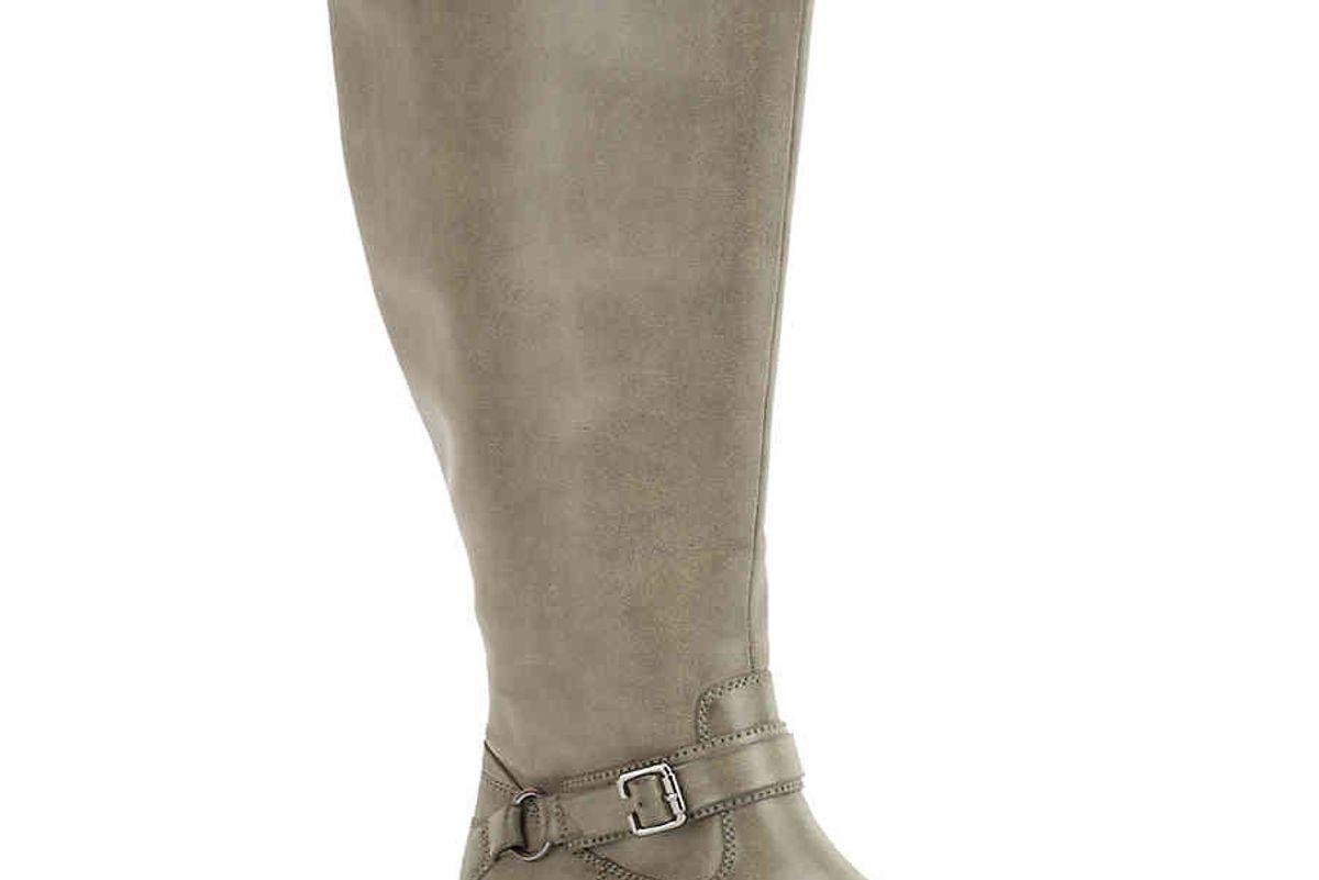 Quinn Extra Wide Calf Riding Boot