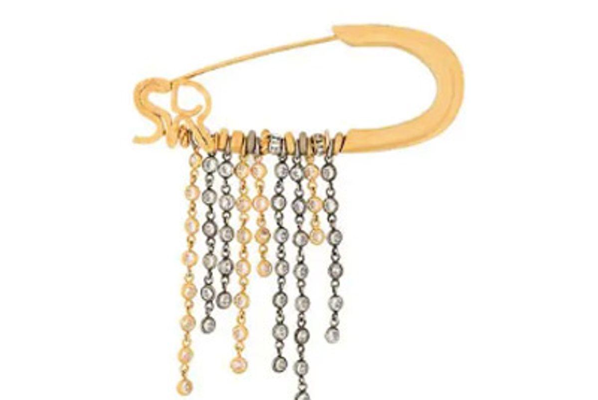 sonia rykiel large embellished pin brooch