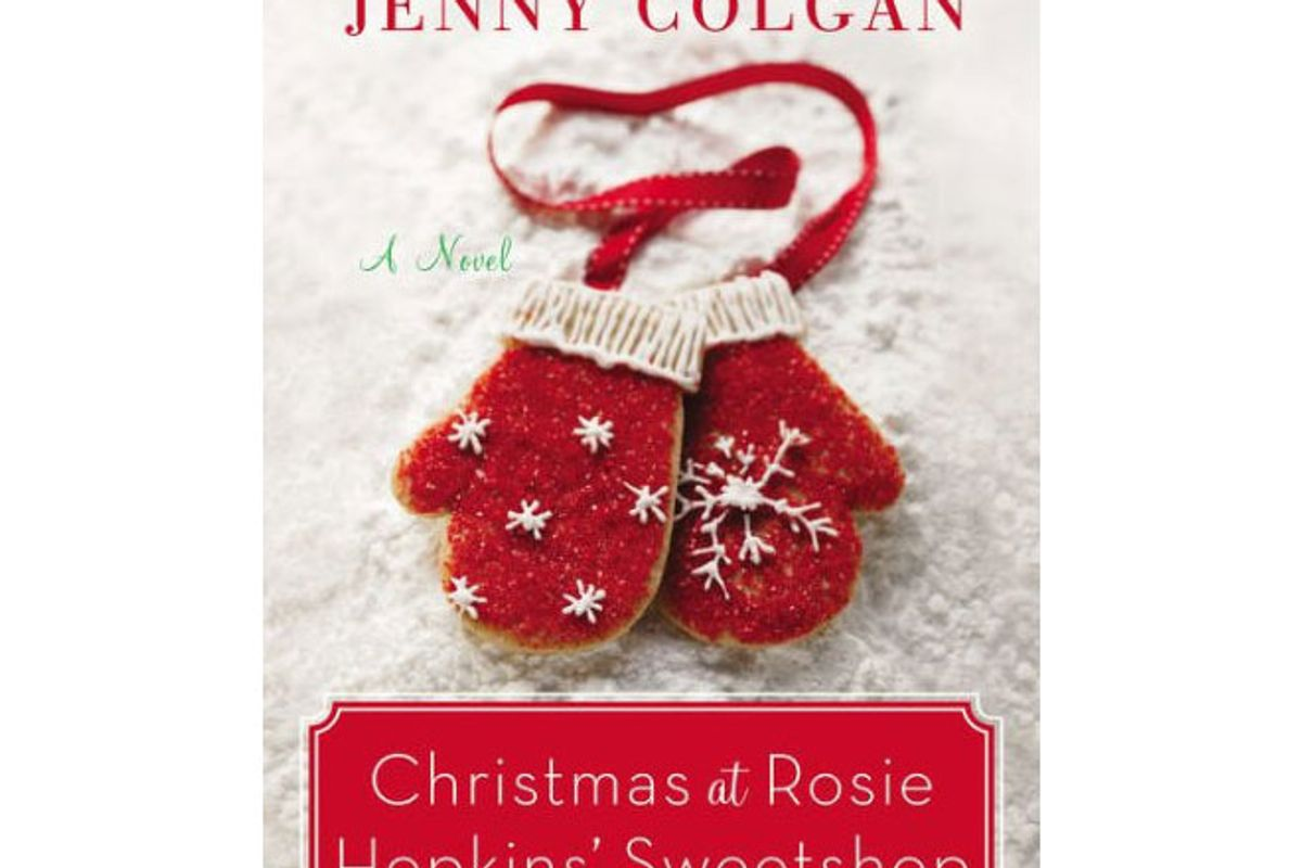 christmas at rosie hopkin's sweetshop by jenny colgan