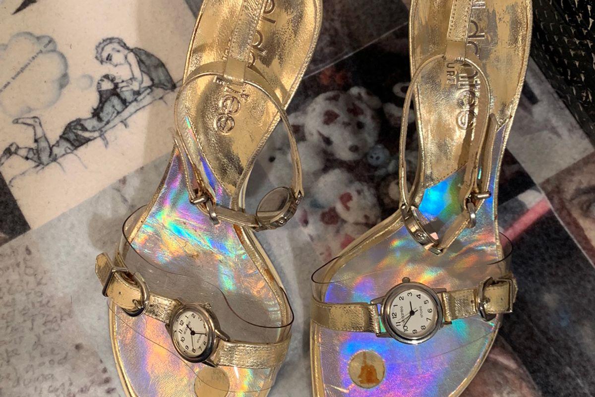 el dantes stiletto watch heels