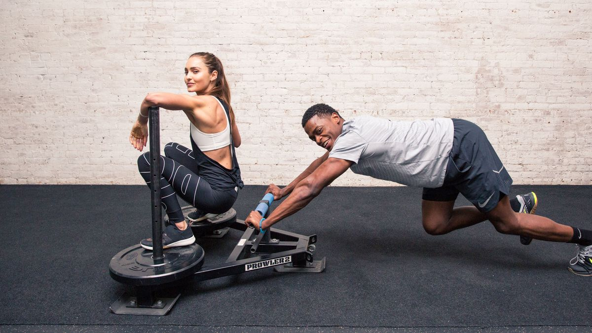 Skip Drinks & Do This Head-to-Toe Toning Workout with a Friend Instead