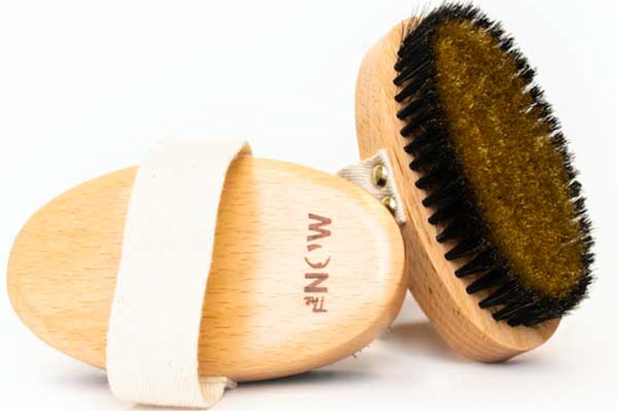 nourish by the now copper dry brush