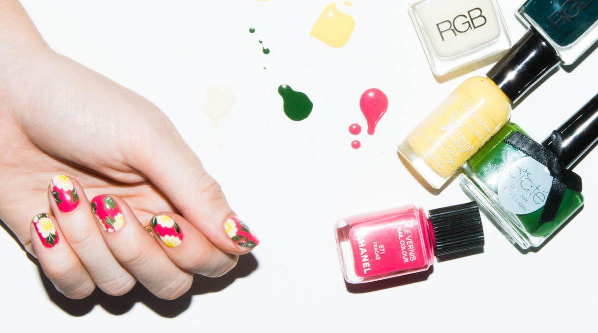 How to do Nail Art like Madeline Poole