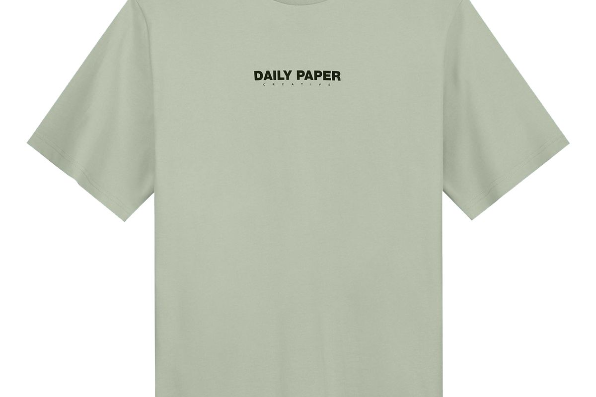 daily paper ming green refarid t shirt