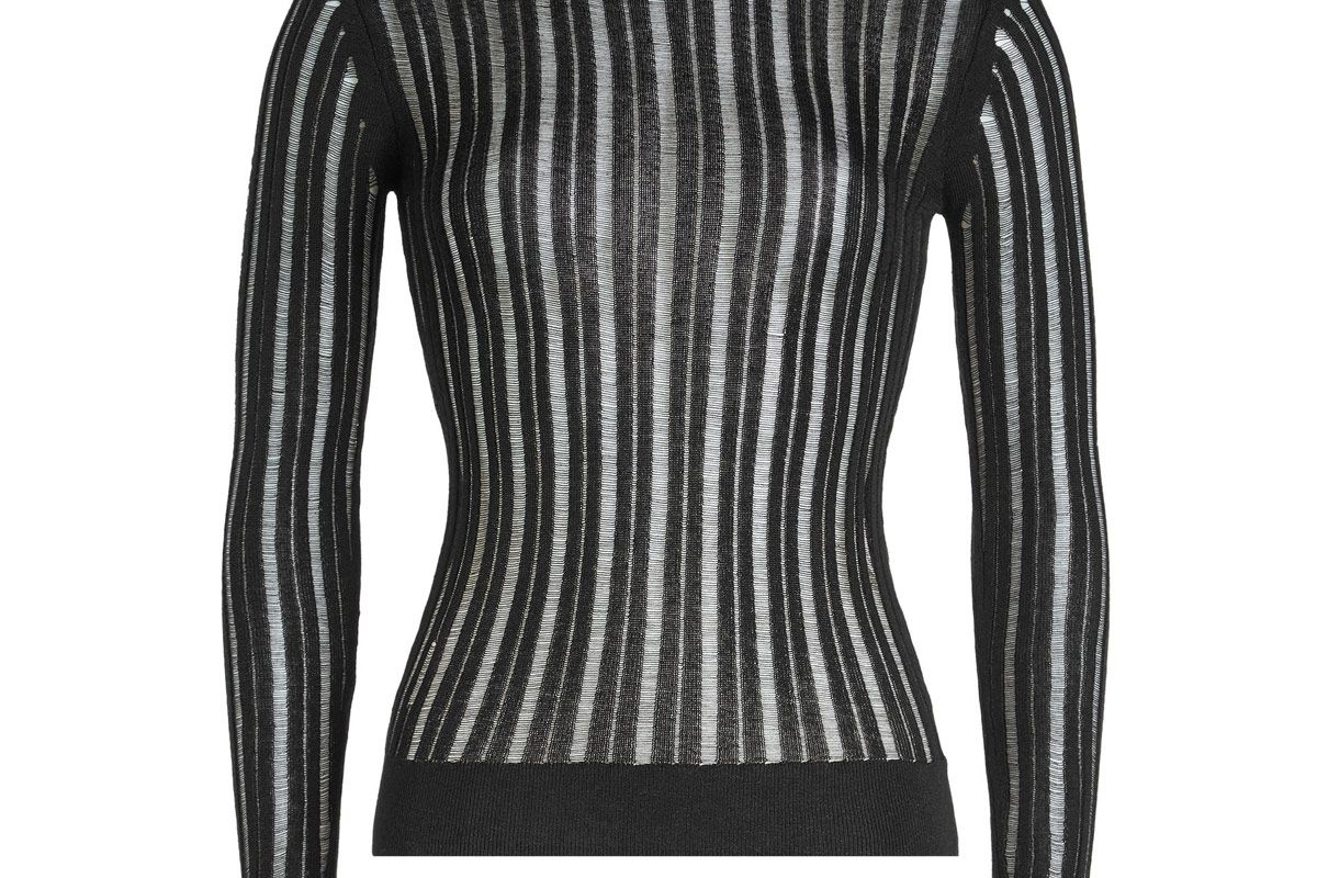Turtleneck Pullover with Cotton