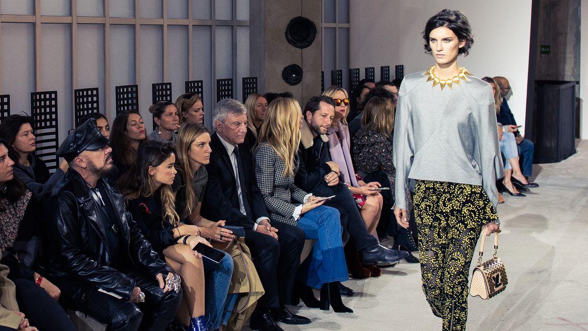 Inside the Louis Vuitton Spring 2017 Show