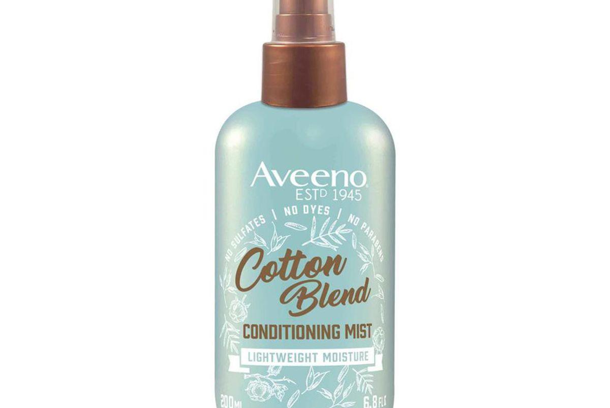aveeno cotton blend conditioning mist