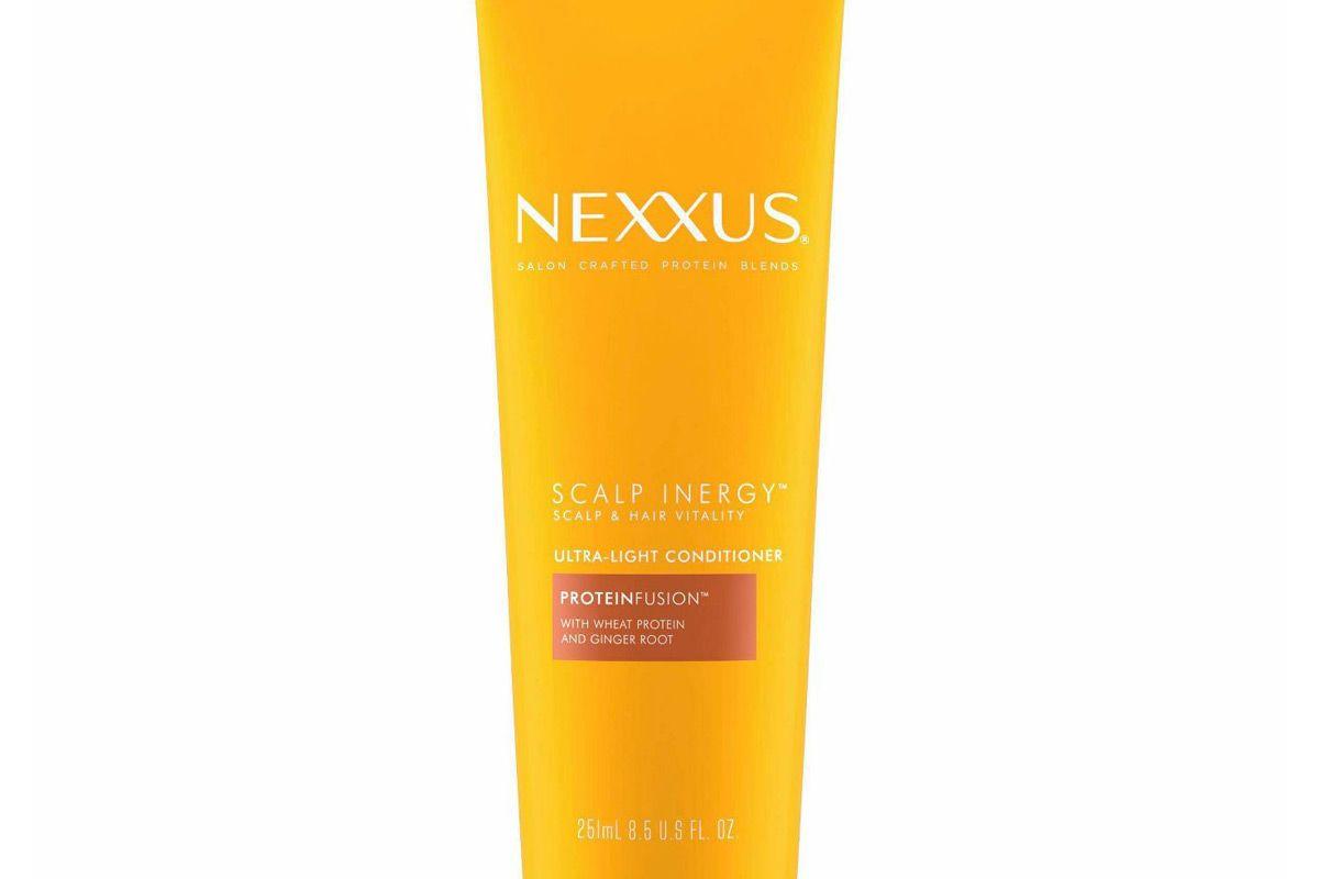 nexxus scalp inergy u;tra light conditioner