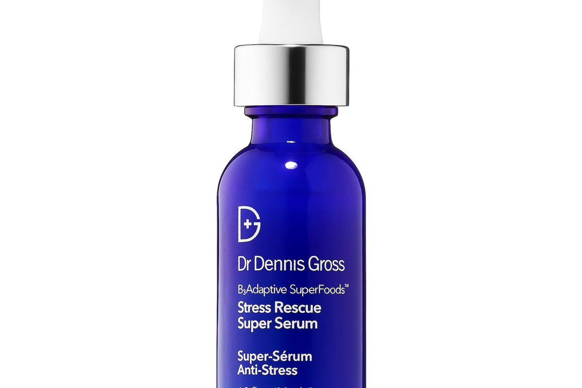 dr dennis gross skincare stress rescue super serum with niacinamide