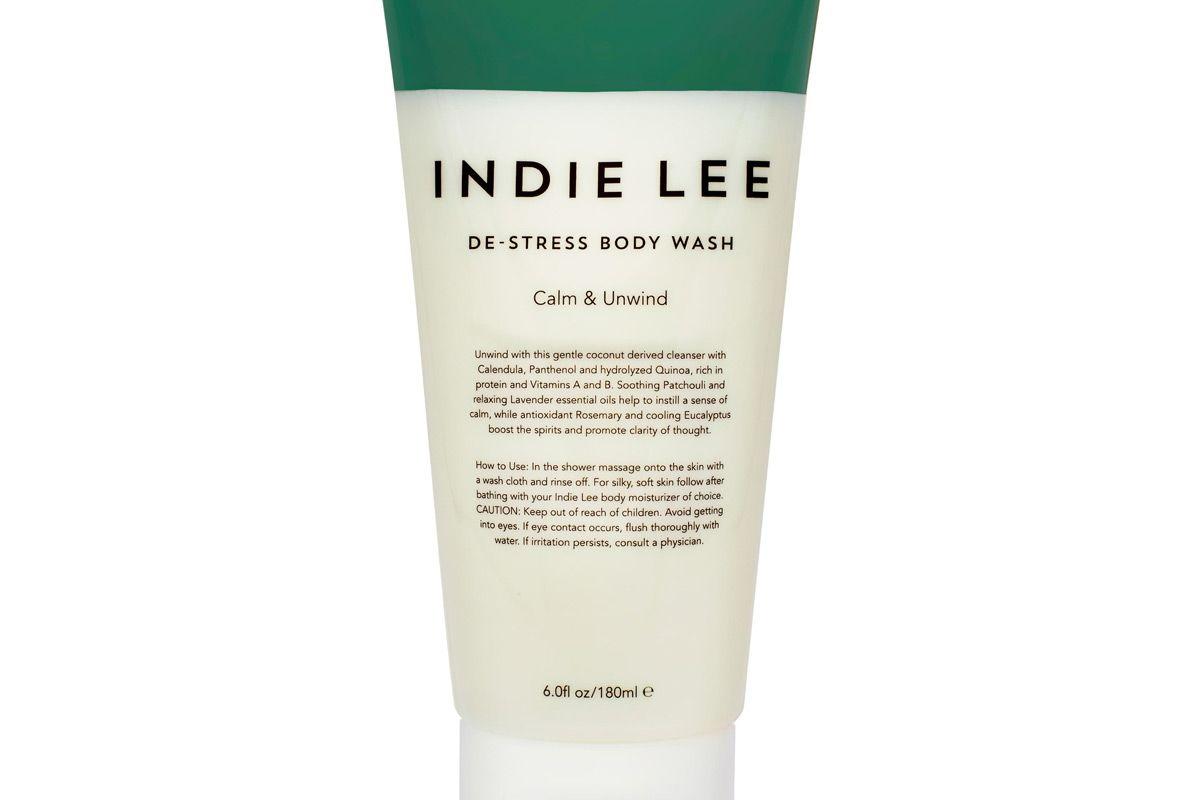 indie lee de stress body wash