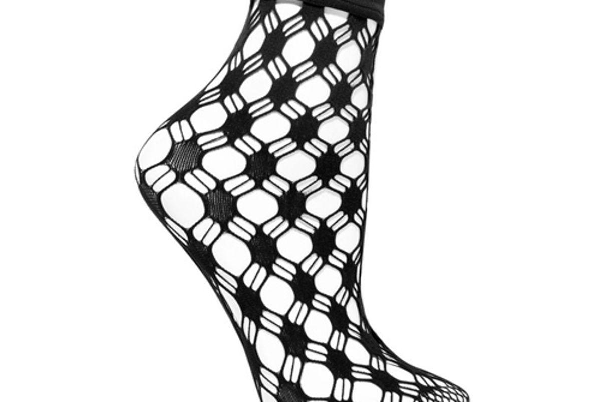 wolford athina fishnet socks