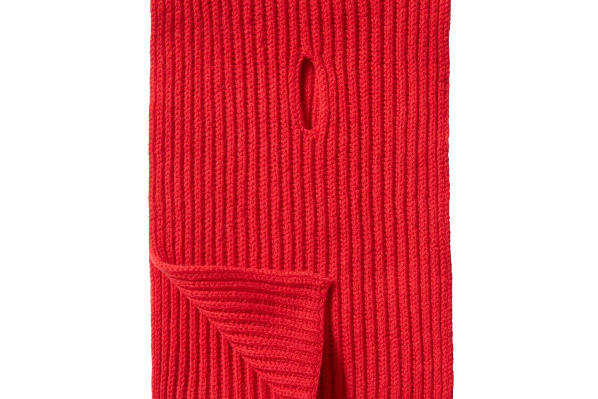 everlane soft wool rib scarf