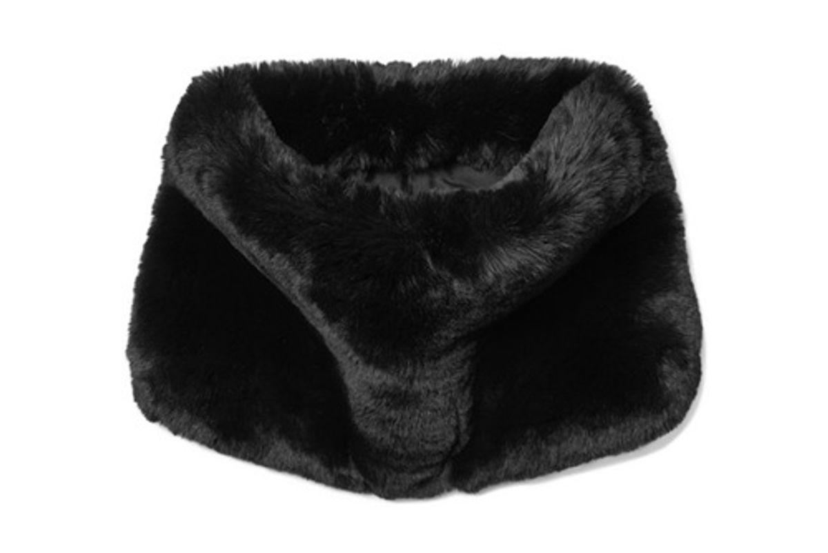 marc jacobs faux fur snood
