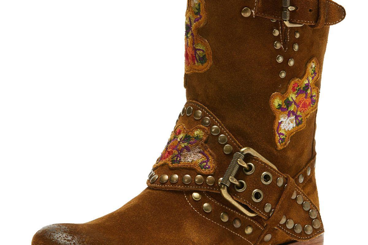 Nat Flower Engineer Boot