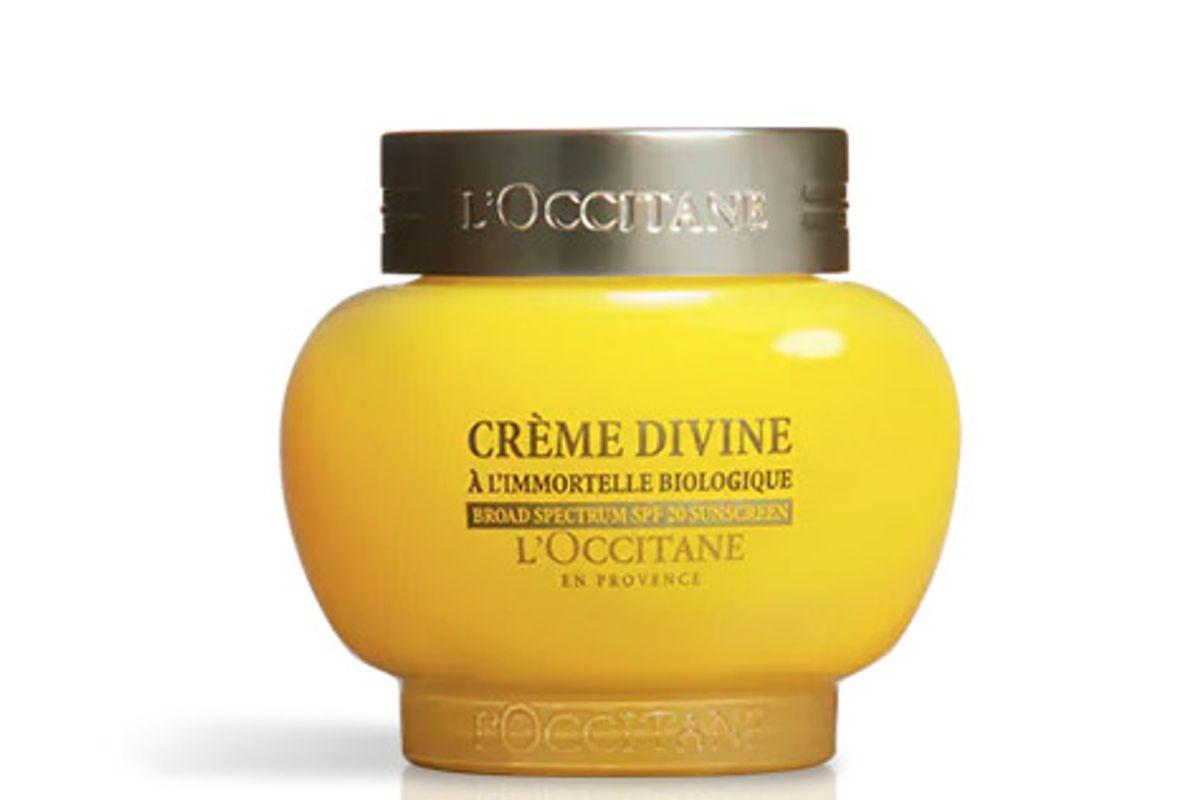 loccitane divine light cream