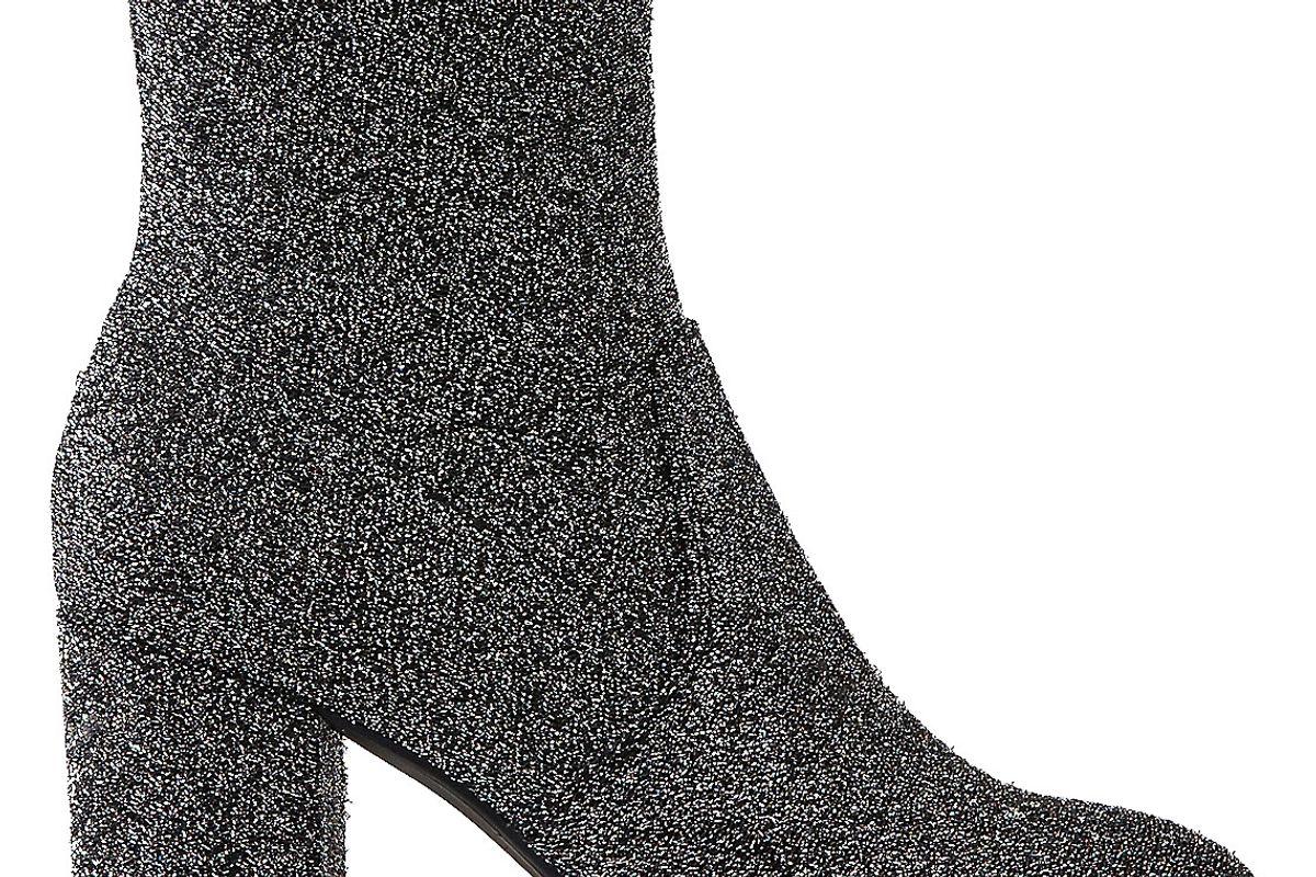 Heeled Sock Bootie