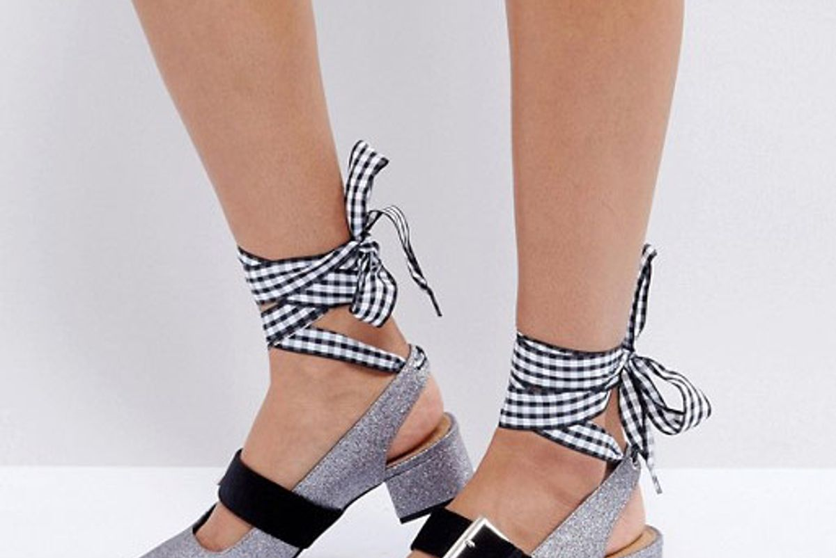 Sparks Interchangeable Laces Mid Heels