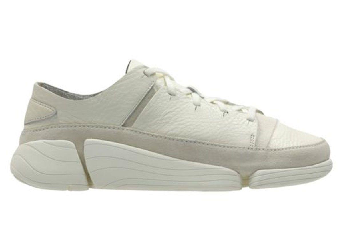 Trigenic Evo White Leather Sneaker