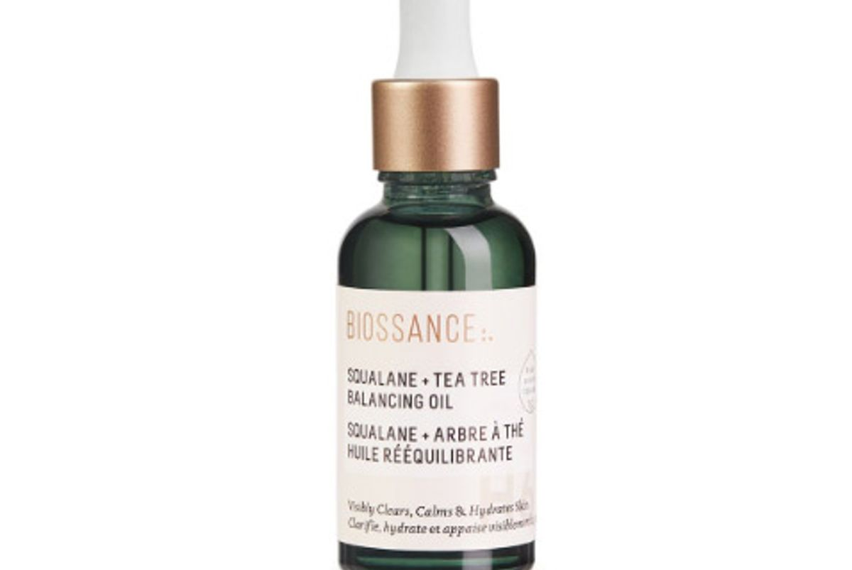 biossance squalane tea tree balancing oil