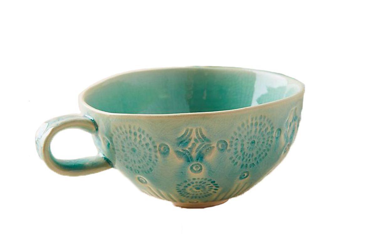 anthropologie old havana mugs set of 4
