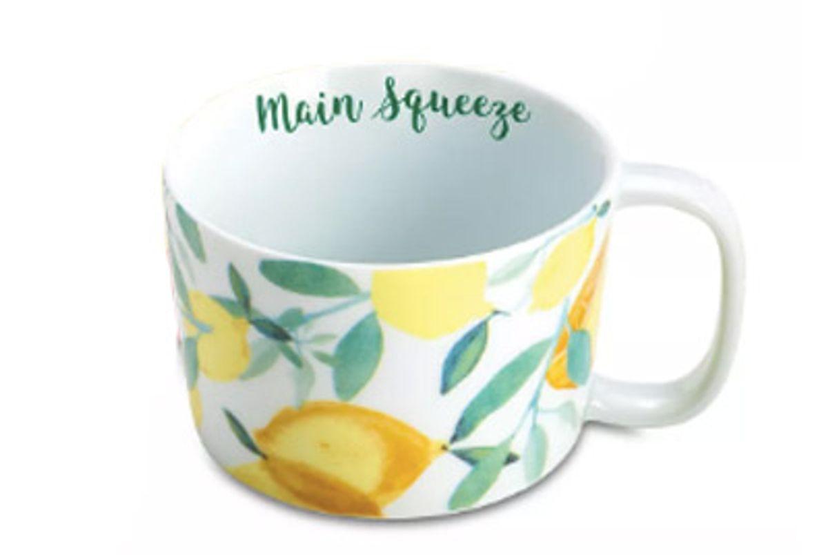 rosanna main squeeze lemons mug