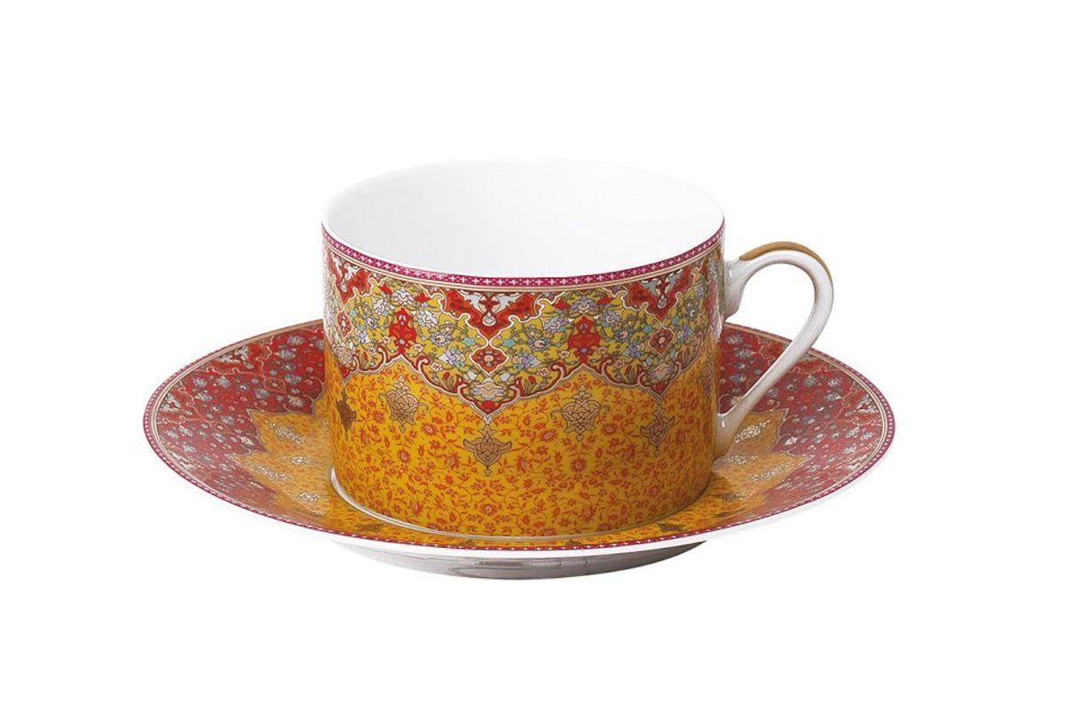 deshoulieres dhara red tea cup