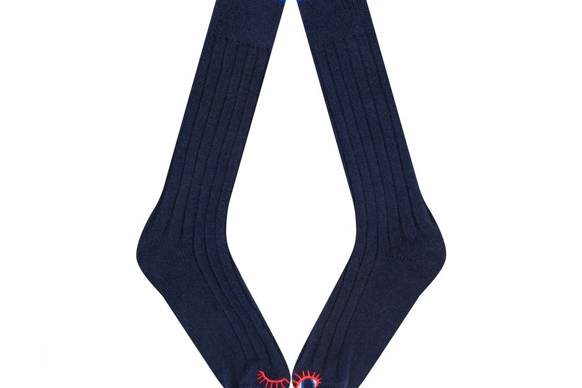 Blue J'amuse Socks