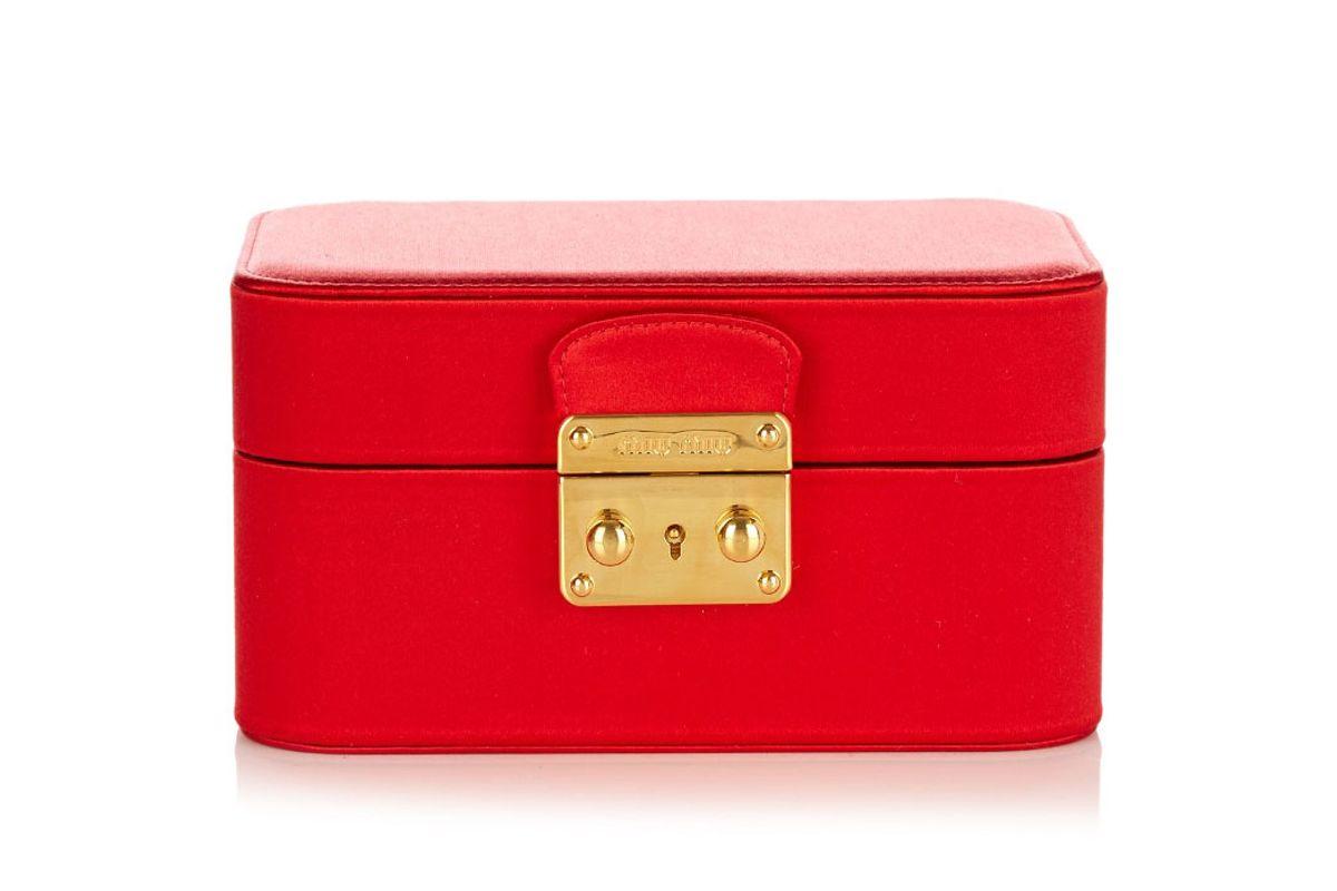 Satin Jewellery Box