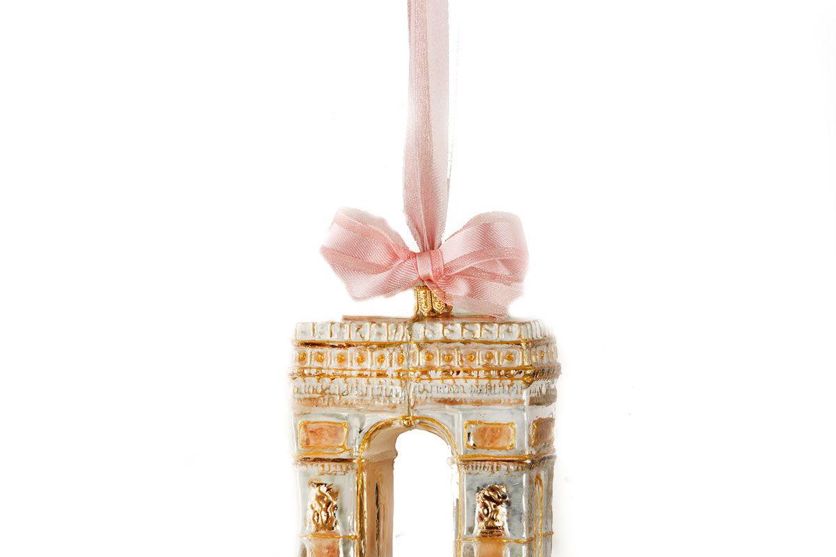 L'Arc de Triomphe Christmas Ornament