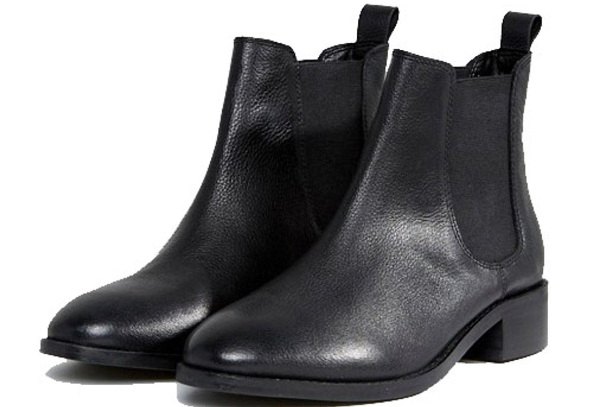 Absolute Wide Fit Leather Chelsea Ankle Boots