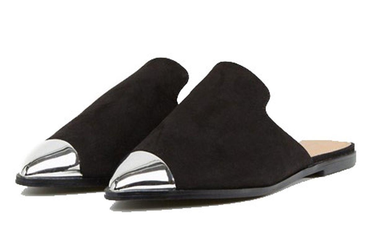 Mona Wide Fit Toe-Cap Mules