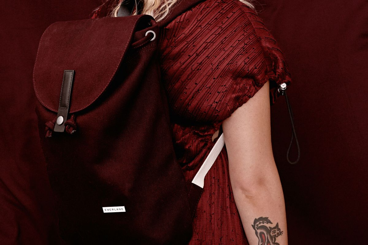 The Modern Twill Single Snap Backpack